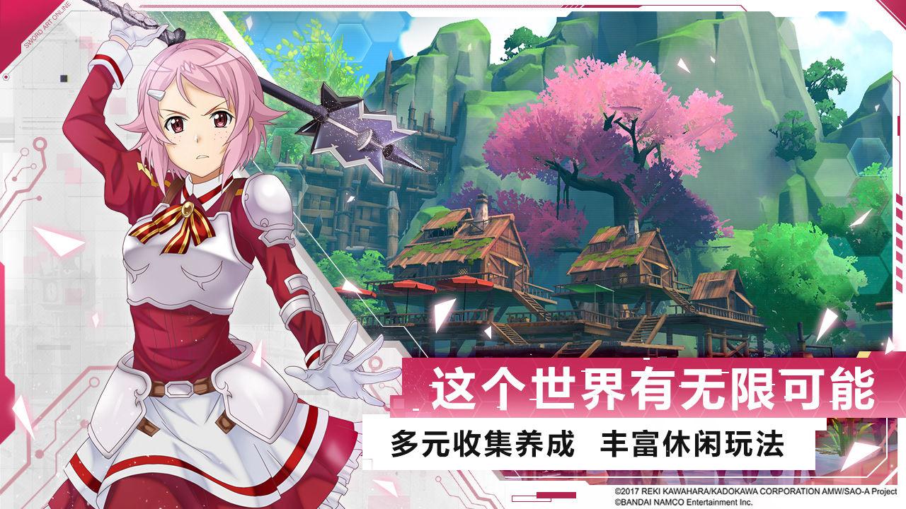 刀剑神域黑衣剑士游戏图4