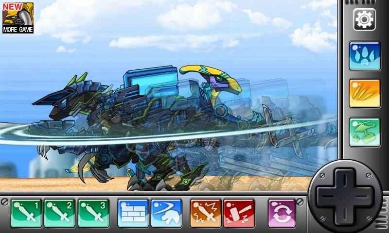 Parasauraptor - Combine! Dino Robot